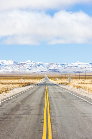 road to Death Valley, California, USA photo