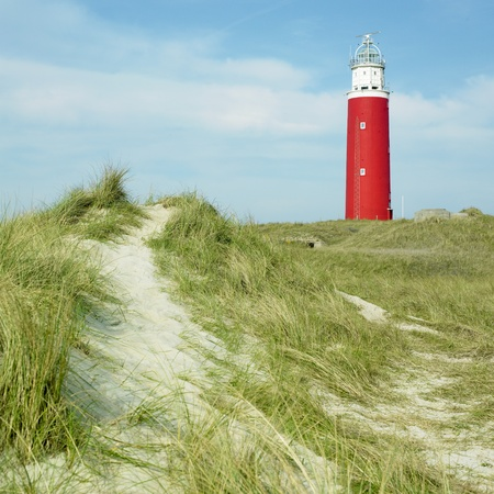 lighthouse, De Cocksdorp, Texel Island, Netherlands photo