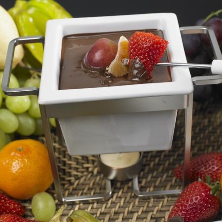 bodegones: fondue de chocolate