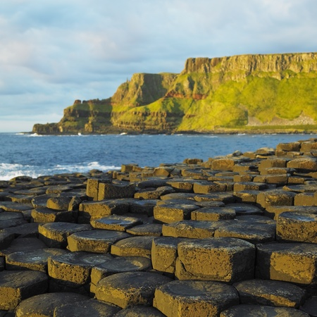 natural landmark: Giants Causeway, County Antrim, Northern Ireland