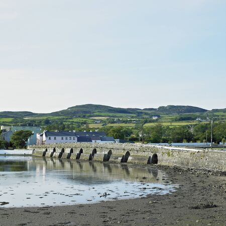 buidings: bridge, Malin, County Donegal, Ireland