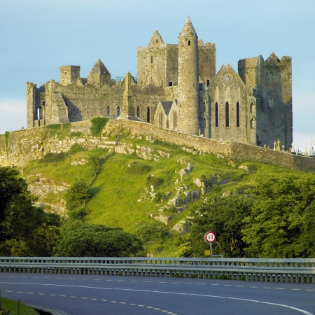 ruin: Rock of Cashel, County Tipperary, Ireland Stock Photo