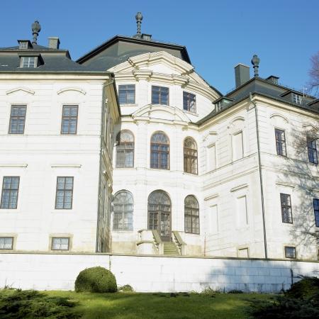 nad': Chlumec nad Cidlinou Castle, Czech Republic Stock Photo