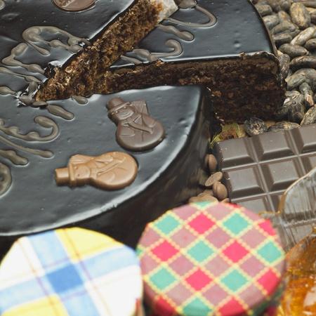 bodegones: Tarta Sacher s bodeg�n