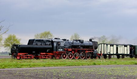 steam train, Veendam - Stadskanaal, Netherlands Stock Photo - 8458963