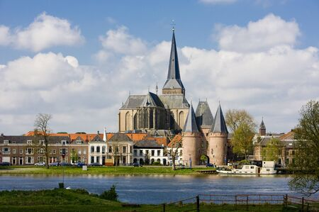 ijssel: Kampen, Overijssel, Netherlands Stock Photo