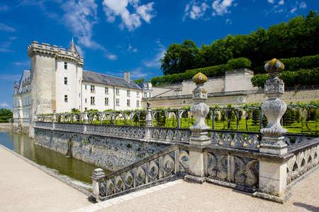 banisters: Villandry Castle with garden, Indre-et-Loire, Centre, France