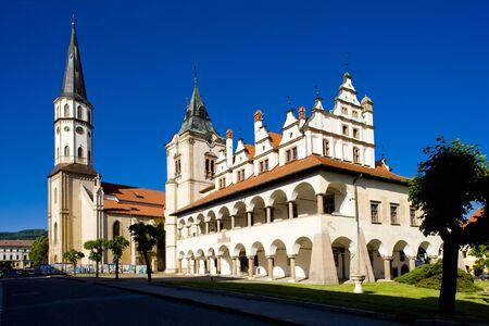 gildhalls: Square of Master Paul, Levoca, Slovakia