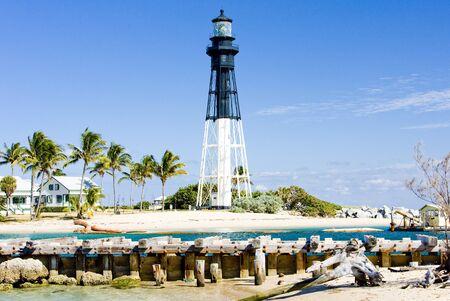 palmtree: Hillsboro Lighthouse, Pompano Beach, Florida, USA