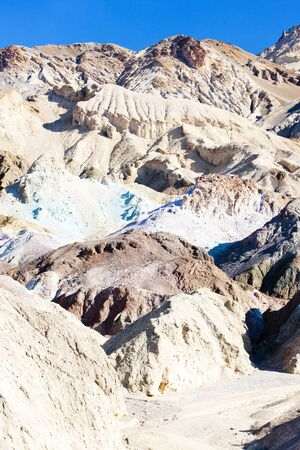 Artists Palette in Artists Drive, Death Valley National Park, California, USA photo