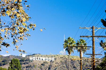 Hollywood Sign, Los Angeles, California, USA Stock Photo - 8484390