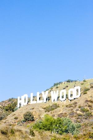 los angeles hollywood: Hollywood Sign, Los Angeles, California, USA