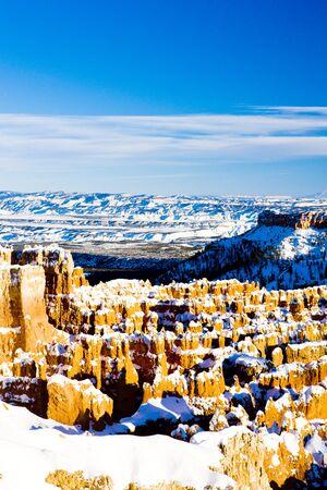 Bryce Canyon National Park in winter, Utah, USA photo