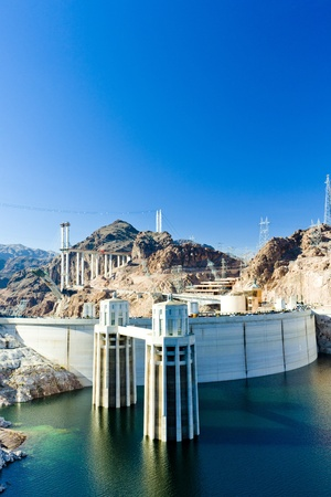 hydroelectric power station: Hoover Dam, Arizona-Nevada, USA