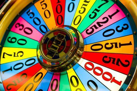 detail of slot machine at the airport, Las Vegas, Nevada, USA Stock Photo - 8484207