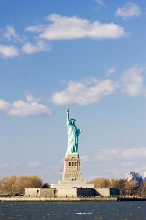 liberty island: Liberty Island e la statua della libert�, New York, USA