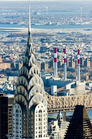 detai: Chrysler building, Manhattan, New York City, USA