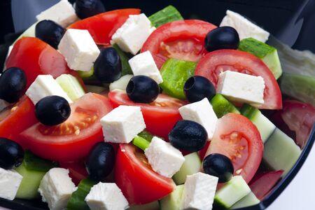 alimentation: Greek salad