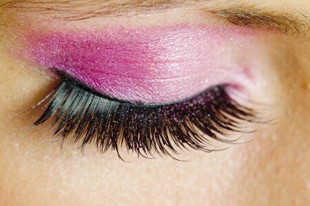 detail of woman''s makeup Stock Photo - 8483961