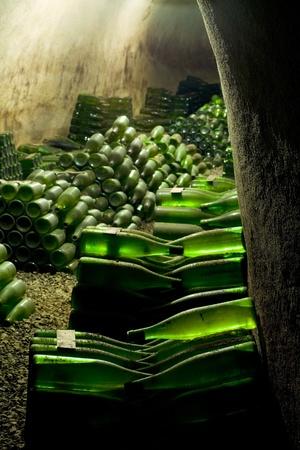 znojmo region: wine archive, Hort Winery, Znojmo - Dobsice, Czech Republic Stock Photo