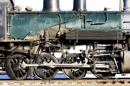 detail of steam locomotive, Alamosa, Colorado, USA Stock Photo - 8691628