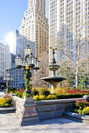 City Hall Park, New York City, USA Stock Photo - 8707852