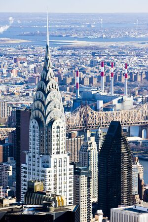 chrysler: Chrysler building, Manhattan, New York City, USA