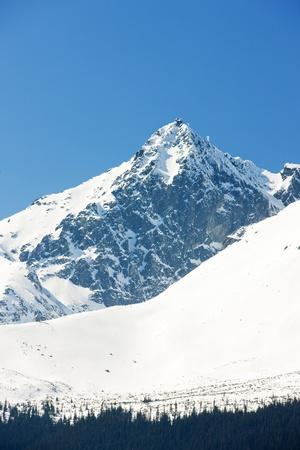 Lomnicky Peak, Vysoke Tatry (High Tatras), Slovakia Stock Photo - 8645315