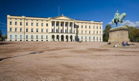 buidings: Slottet (Royal Palace), Oslo, Norway