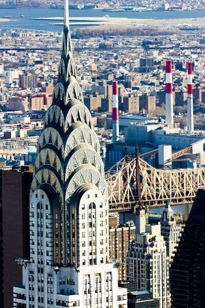 Chrysler building, Manhattan, New York City, USA
