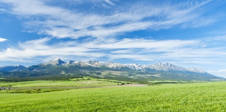 tatry: Vysoke Tatry (High Tatras), Slovakia