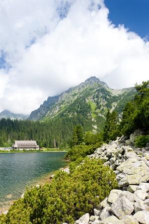 tatras tatry: Popradske Tarn, Vysoke Tatry (High Tatras), Slovakia