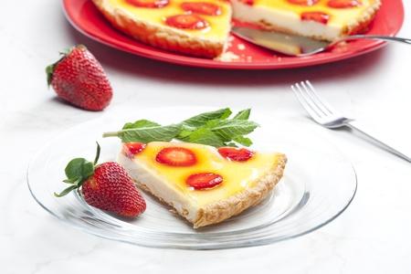 strawberry cake Stock Photo - 8693731