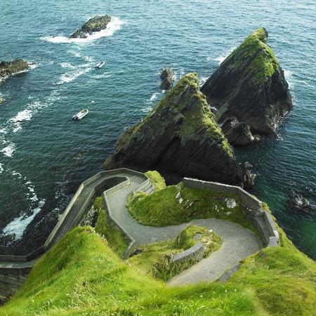 Seascape, County Kerry, Ierland Stockfoto