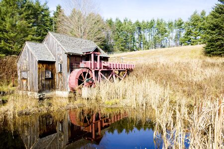 grist mill: grist mill near Guilhall, Vermont, USA