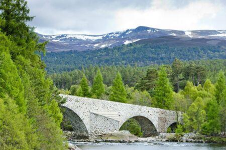Invercauld Bridge, Highlands, Scotland Stock Photo - 8795413