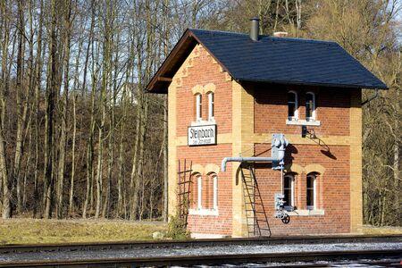 steam traction: narrow-gauge railways, Steinbach - J�hstadt, Germany