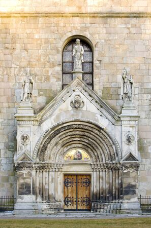 friaries: portal of Tepla Monastery, Czech Republic