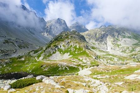 tatras tatry: valley under Prielom, Vysoke Tatry (High Tatras), Slovakia