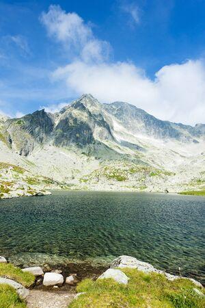 Five Spis Tarns, High Tatras (Vysoke Tatry), Slovakia Stock Photo - 8796505