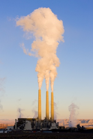 power plant in Page, Arizona, USA Stock Photo - 8877008