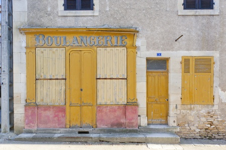 fasade: bakery in La Celle, Centre, France