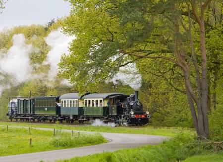 steam train, Boekelo - Haaksbergen, Netherlands Stock Photo - 8879213