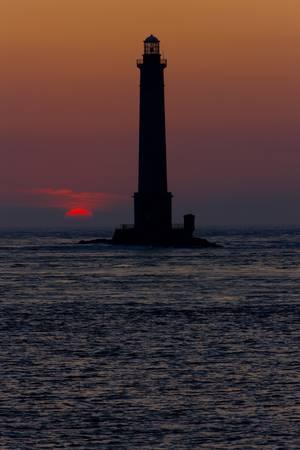 lighthouse, Cap de la Hague, Normandy, France Stock Photo - 8879010