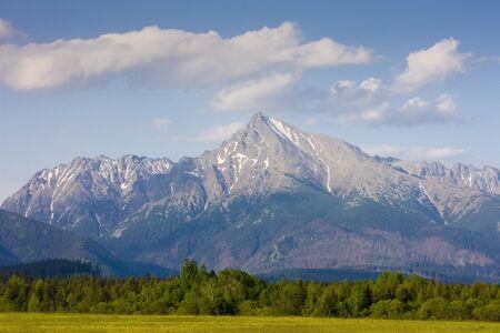 tatras tatry: Krivan, Vysoke Tatry (High Tatras), Slovakia