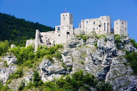 buidings: ruins of Strecno Castle, Slovakia
