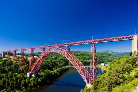 viaducts: Garabit Viaduct, Cantal D�partement, Auvergne, France
