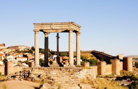 Los cuatro postes (the four poles), Avila, Castile and Leon, Spain photo