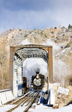 Durango and Silverton Narrow Gauge Railroad, Colorado, USA Stock Photo - 8879088