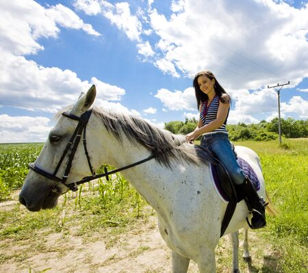 equestrian on horseback Stock Photo - 8952797